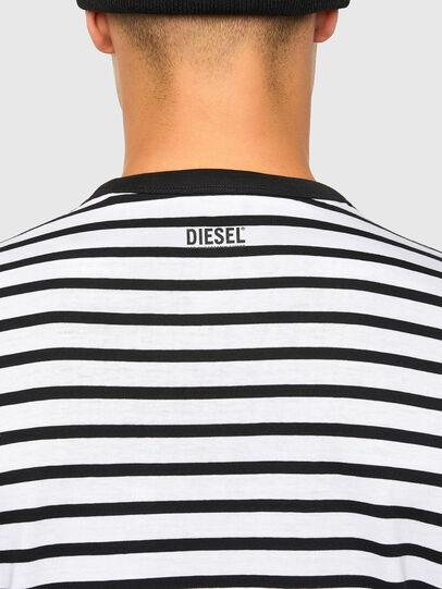 Diesel - T-DIEGOSCO, Schwarz - T-Shirts - Image 4
