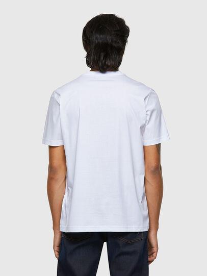 Diesel - T-JUST-B63, Blanc - T-Shirts - Image 2