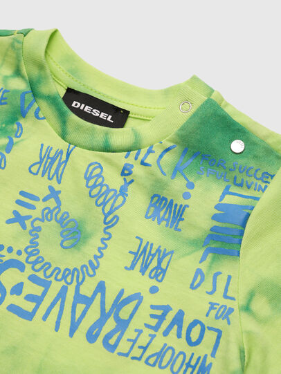 Diesel - TIMMYB, Vert - T-shirts et Hauts - Image 3