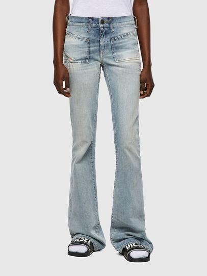 Diesel - D-Ebbey 09A04, Bleu Clair - Jeans - Image 1