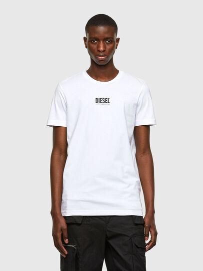 Diesel - T-DIEGOS-SMALLOGO, Blanc - T-Shirts - Image 1