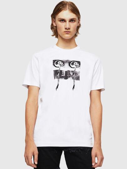Diesel - TY-X1, Weiß - T-Shirts - Image 1