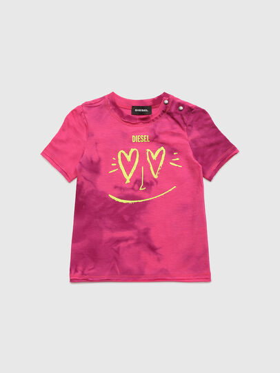 Diesel - TINTDB, Rose - T-shirts et Hauts - Image 1