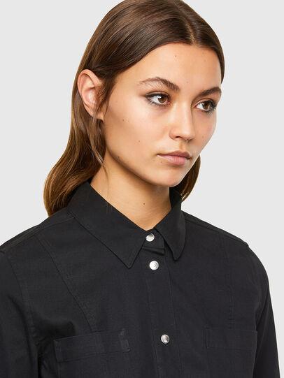 Diesel - D-SHAY, Black - Dresses - Image 3
