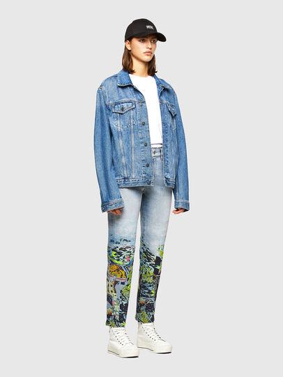 Diesel - D-Joy 009IZ, Hellblau - Jeans - Image 6