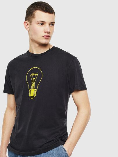 Diesel - T-DIEGO-S9, Schwarz - T-Shirts - Image 1