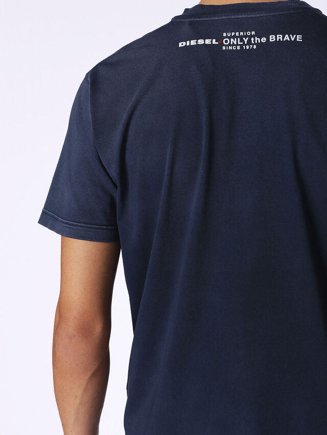 Diesel - T-KEITHS, Blau - T-Shirts - Image 2