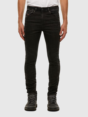 D-Reeft JoggJeans 009FY, Schwarz/Dunkelgrau - Jeans