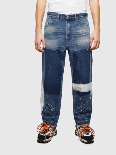 Diesel - D-Franky 009CB, Mittelblau - Jeans - Image 1