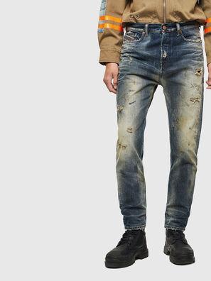 D-Vider 0098S, Mittelblau - Jeans
