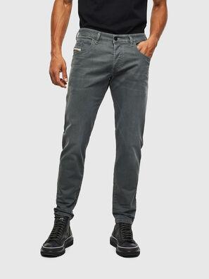 D-Bazer 0699P, Grün Melange - Jeans