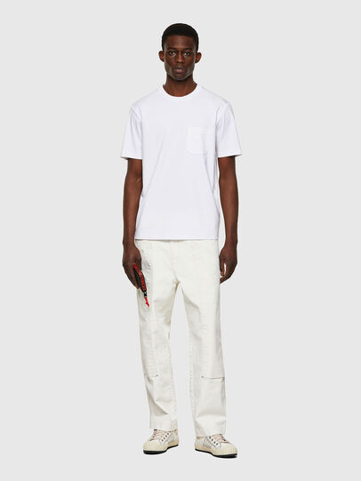 Diesel - T-JUST-WORKY, Blanc - T-Shirts - Image 4