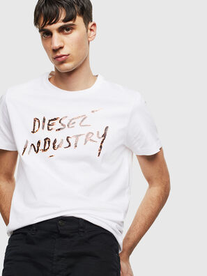 T-DIEGO-S15, Weiß - T-Shirts