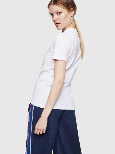 Diesel - T-SILY-ZE, Weiß - T-Shirts - Image 2