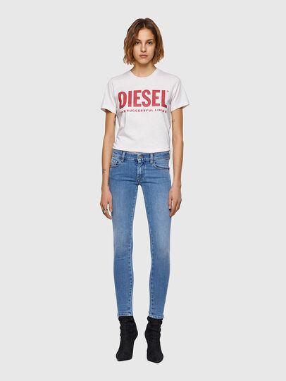 Diesel - Slandy Low 009ZY, Blu Chiaro - Jeans - Image 5