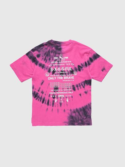 Diesel - TJUSTSLITSX86 OVER, Rose - T-shirts et Hauts - Image 2