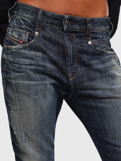 Diesel - Fayza 0096U, Dunkelblau - Jeans - Image 3