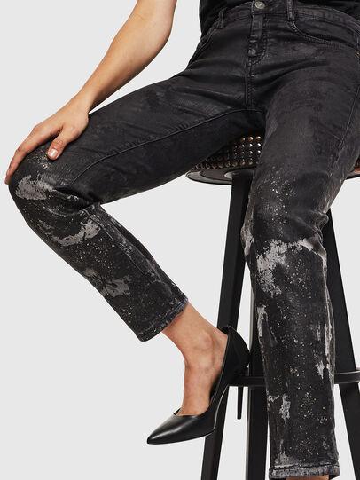 Diesel - D-Ollies JoggJeans 084AZ, Schwarz/Dunkelgrau - Jeans - Image 5