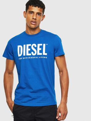 T-DIEGO-LOGO, Hellblau - T-Shirts