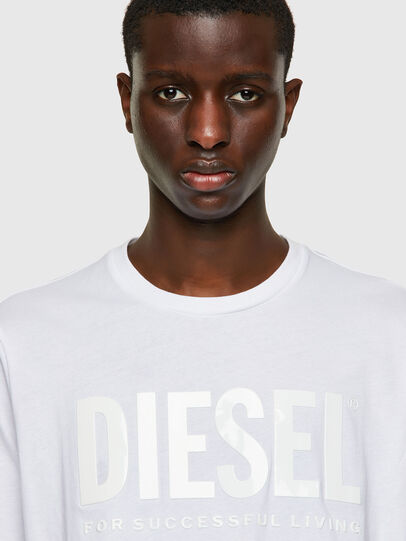 Diesel - T-JUST-INLOGO, Blanc - T-Shirts - Image 3