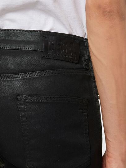 Diesel - D-Strukt JoggJeans 069QX, Schwarz/Grün - Jeans - Image 4