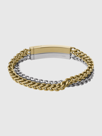Diesel - DX1262, Gold/White - Bracelets - Image 2