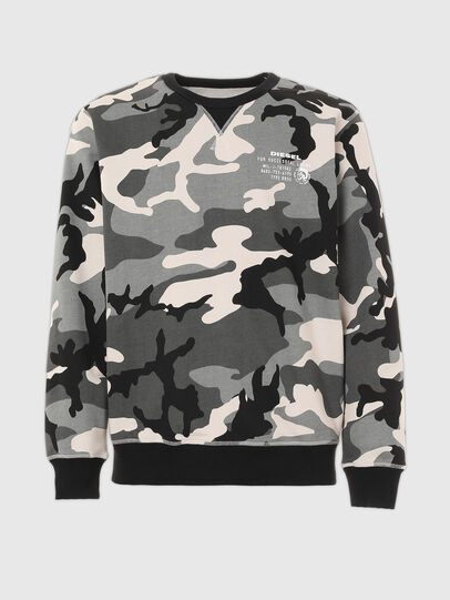 Diesel - UMLT-WILLY, Grey/Black - Sweaters - Image 1