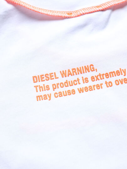 Diesel - TJUSEAM, Blanc - T-shirts et Hauts - Image 3