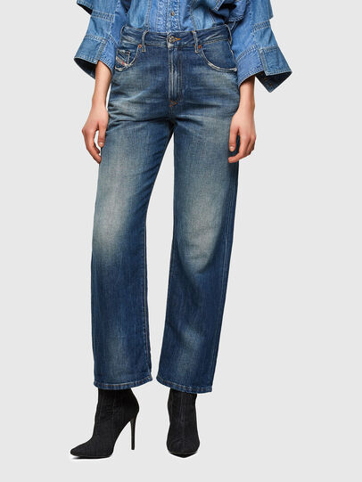 Diesel - D-Reggy 009UD, Blu Scuro - Jeans - Image 1