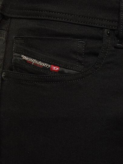 Diesel - Sleenker 069EI, Schwarz/Dunkelgrau - Jeans - Image 4