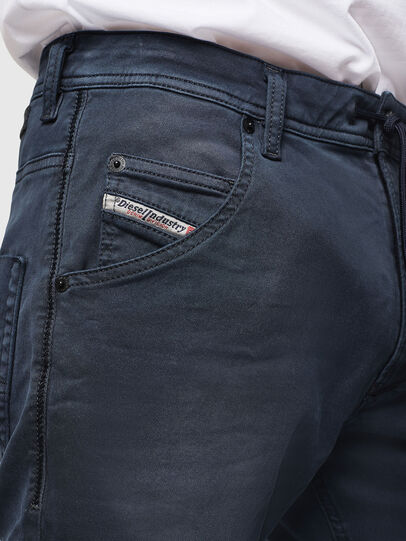 Diesel - Krooley Long JoggJeans 0670M, Dunkelblau - Jeans - Image 3