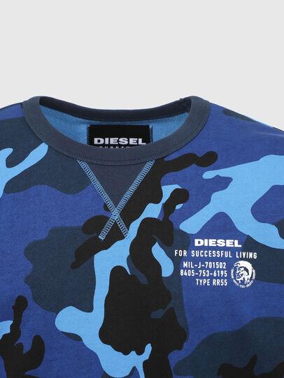 Diesel - UMLT-WILLY, Blau - Sweatshirts - Image 3
