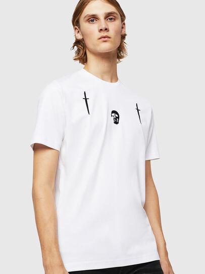 Diesel - TY-X2, Weiß - T-Shirts - Image 1