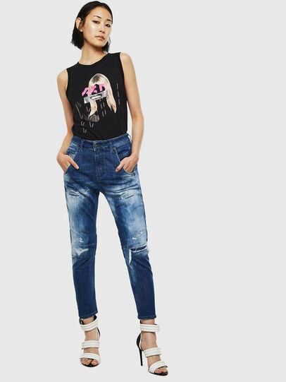 Diesel - Fayza JoggJeans 0099S, Dunkelblau - Jeans - Image 6
