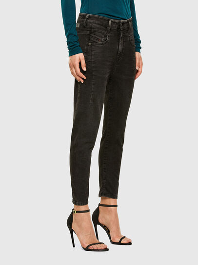 Diesel - FAYZA JoggJeans® 009HM, Schwarz/Dunkelgrau - Jeans - Image 5