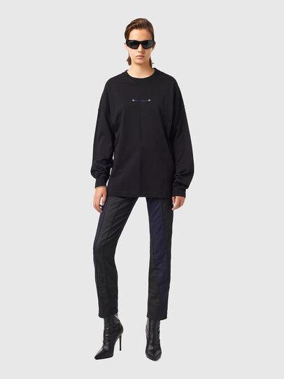Diesel - T-BLONG, Noir - T-Shirts - Image 4