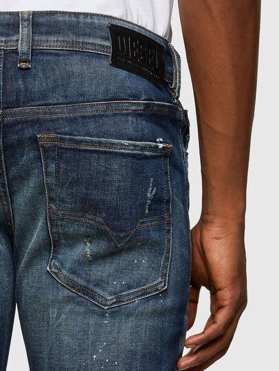 Diesel - Sleenker 0097L, Dunkelblau - Jeans - Image 4