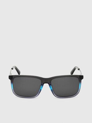 DL0309, Schwarz/Blau - Sonnenbrille