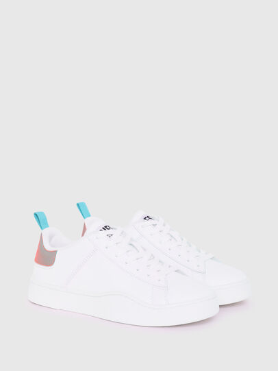 Diesel - S-CLEVER LOW LACE W, Weiss/Blau - Sneakers - Image 2