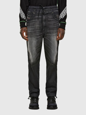 D-Skint JoggJeans 069PC, Schwarz/Dunkelgrau - Jeans