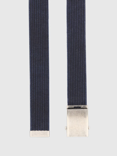 Diesel - B-COMBA, Blue - Belts - Image 3