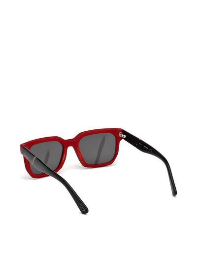 Diesel - DL0253, Schwarz/ Rot - Sonnenbrille - Image 2