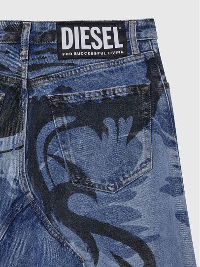 Diesel - DE-SPIZ, Hellblau - Röcke - Image 4