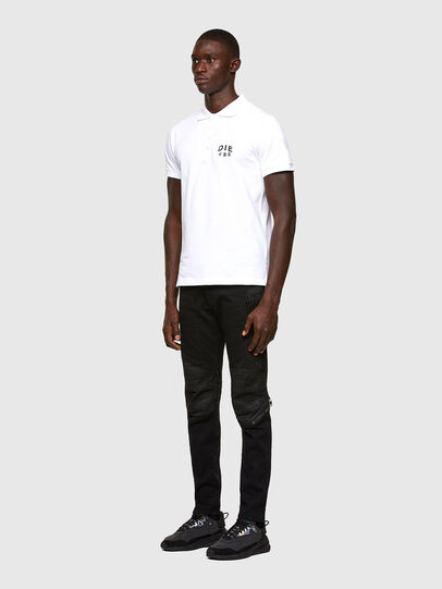 Diesel - T-RANDY-NEW-A2, Blanc - Polos - Image 4