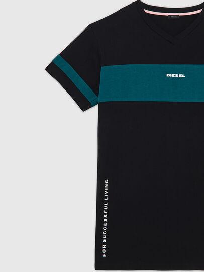 Diesel - UFTEE-CHEERLY, Schwarz/Blau - T-Shirts - Image 3