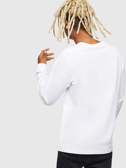 Diesel - T-DIEGO-LS-J1, Weiß - T-Shirts - Image 2