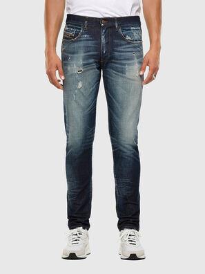 D-Strukt 0092I, Dunkelblau - Jeans