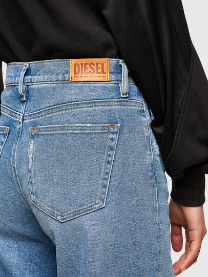 Diesel - D-Akemi 009EU, Blu Chiaro - Jeans - Image 4