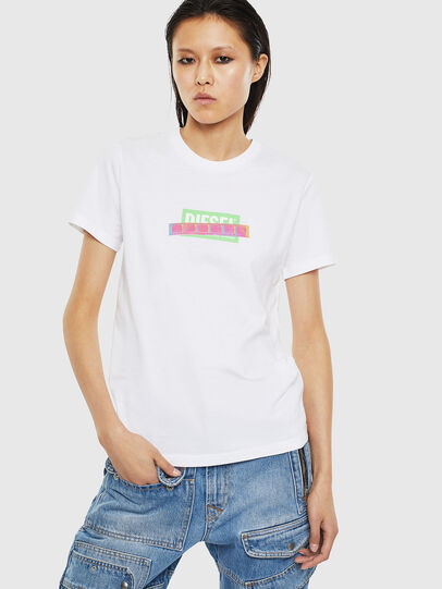 Diesel - T-SILY-S2, Weiß - T-Shirts - Image 1