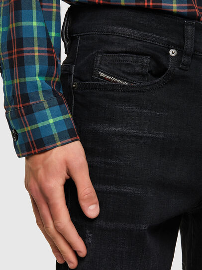 Diesel - D-Amny 0092B, Nero/Grigio scuro - Jeans - Image 4